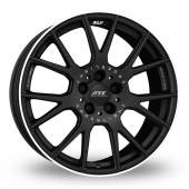 ATS Crosslight Matt Black Alloy Wheels