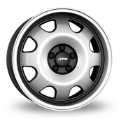 ATS Cup Black Polished Alloy Wheels