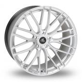 AC Wheels Syclone Hyper Silver Alloy Wheels