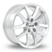 Dezent TF Silver Alloy Wheels