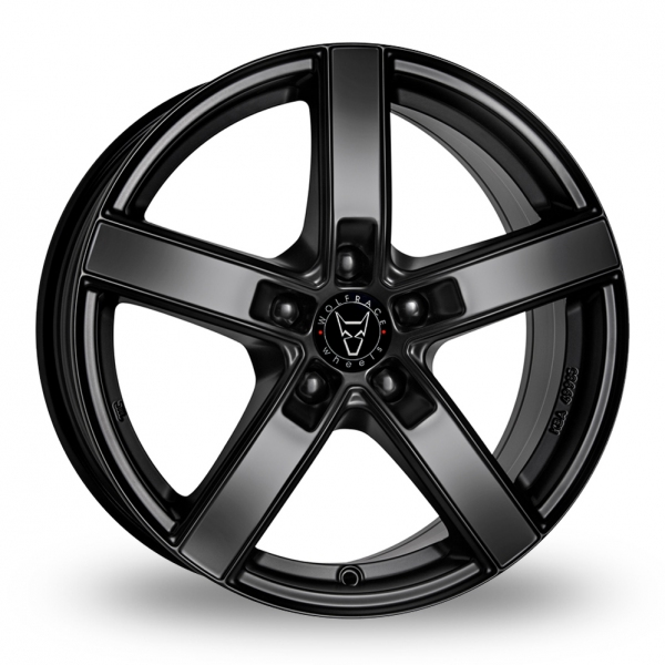 "Picture of 16"" Wolfrace Emotion Satin Black"