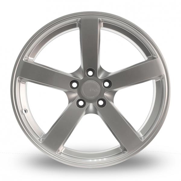 "18"" Fox MS003 Silver Alloy Wheels"