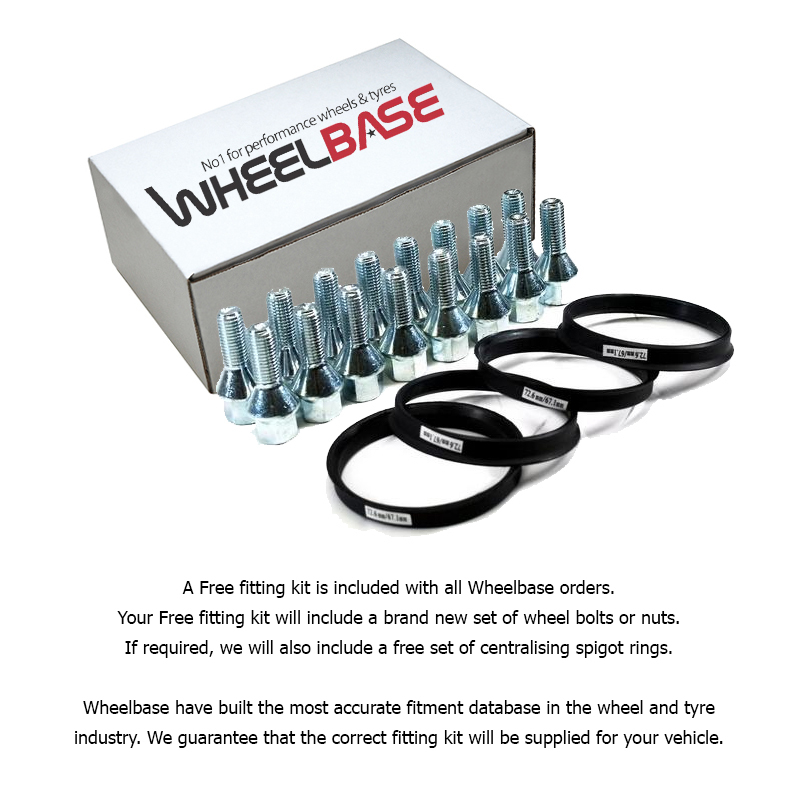 All of our alloy wheel sets include free bolts