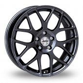 Autec Hexano Black Metallic Alloy Wheels