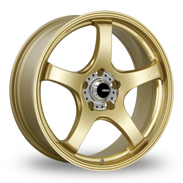 "Picture of 19"" Konig Centigram Gold Wider Rear"