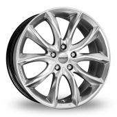 Momo Screamjet Hyper Silver Alloy Wheels