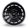 8.5x18 (Front) & 9.5x18 (Rear) 3SDM 0.66 Black Polished Rim Alloy Wheels