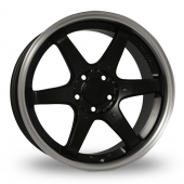 Fox Racing MS006 Matt Black Alloy Wheels