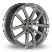 MSW (by OZ) 22 Grey Alloy Wheels
