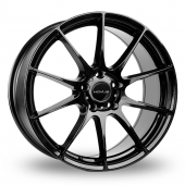 Novus 02 Gloss Black Alloy Wheels
