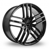 Novus 03 Gloss Black Alloy Wheels