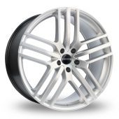 Novus 03 Hyper Silver Alloy Wheels