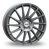 Autec Oktano Matt Gun Metal Alloy Wheels