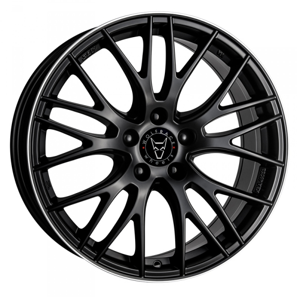 "Picture of 17"" Wolfrace Perfektion Black"