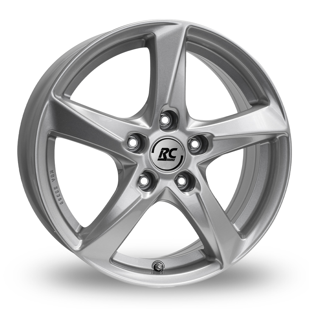 "18"" RC Design RC30 Silver Alloy Wheels"