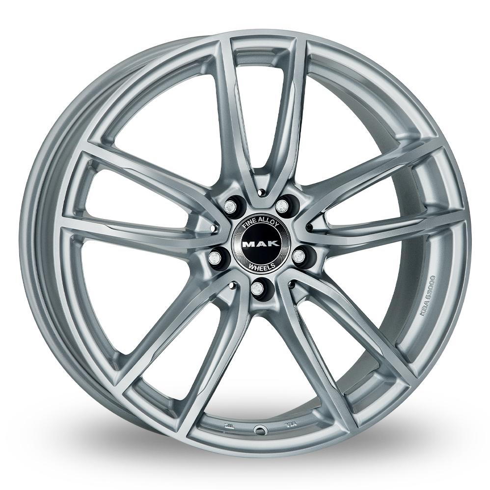 "19"" MAK Evo Silver Wider Rear Alloy Wheels"