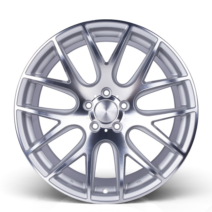 19 Inch 3SDM 0.01 Silver Polished Alloy Wheels