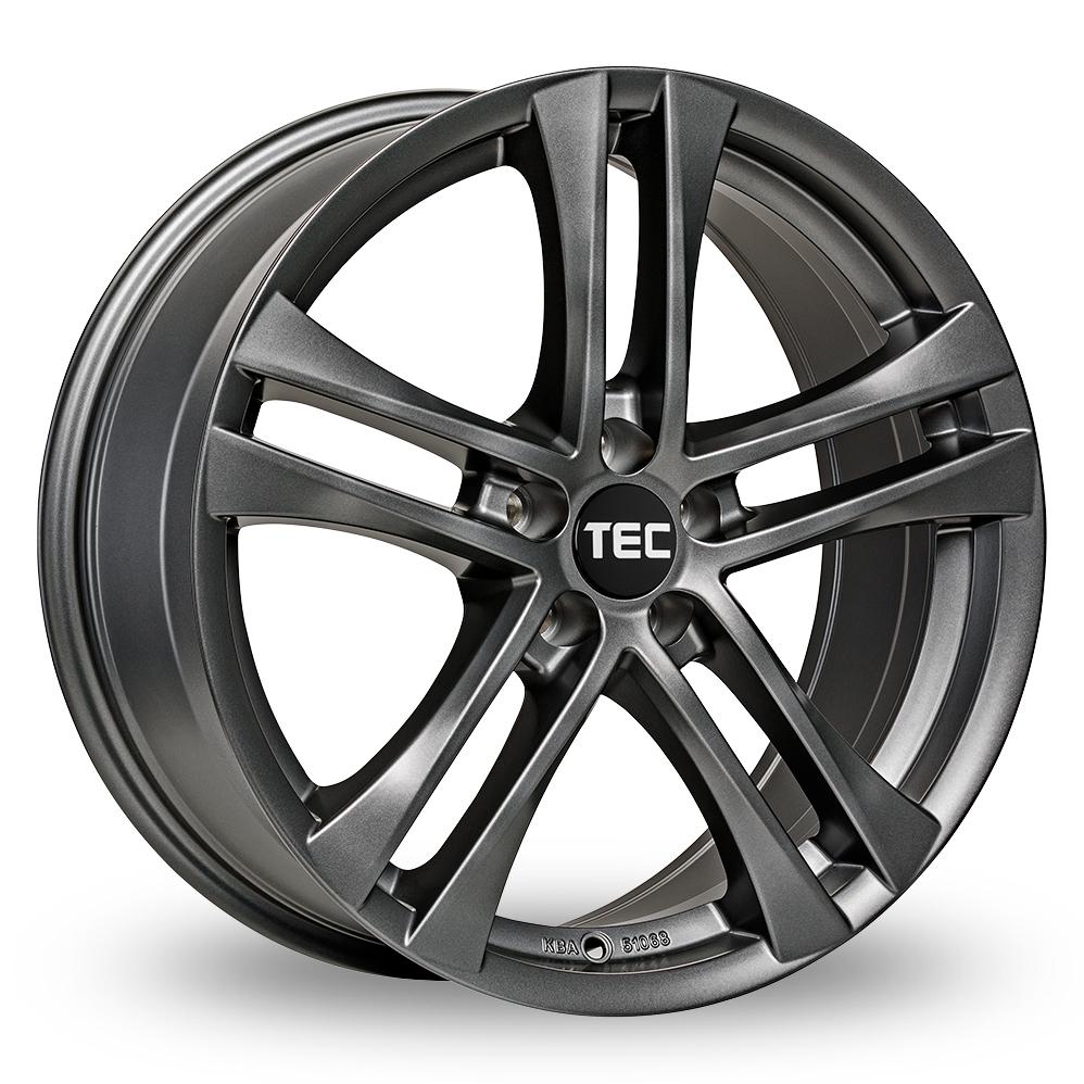 17 Inch TEC Speedwheels AS4 Gun Metal Alloy Wheels