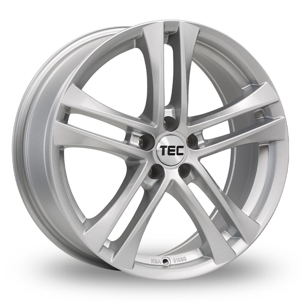 """18"""" TEC Speedwheels AS4 Silver Alloy Wheels"""
