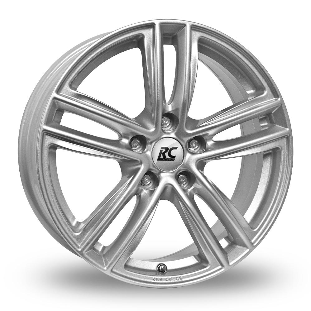 15 Inch RC Design RC27 Silver Alloy Wheels