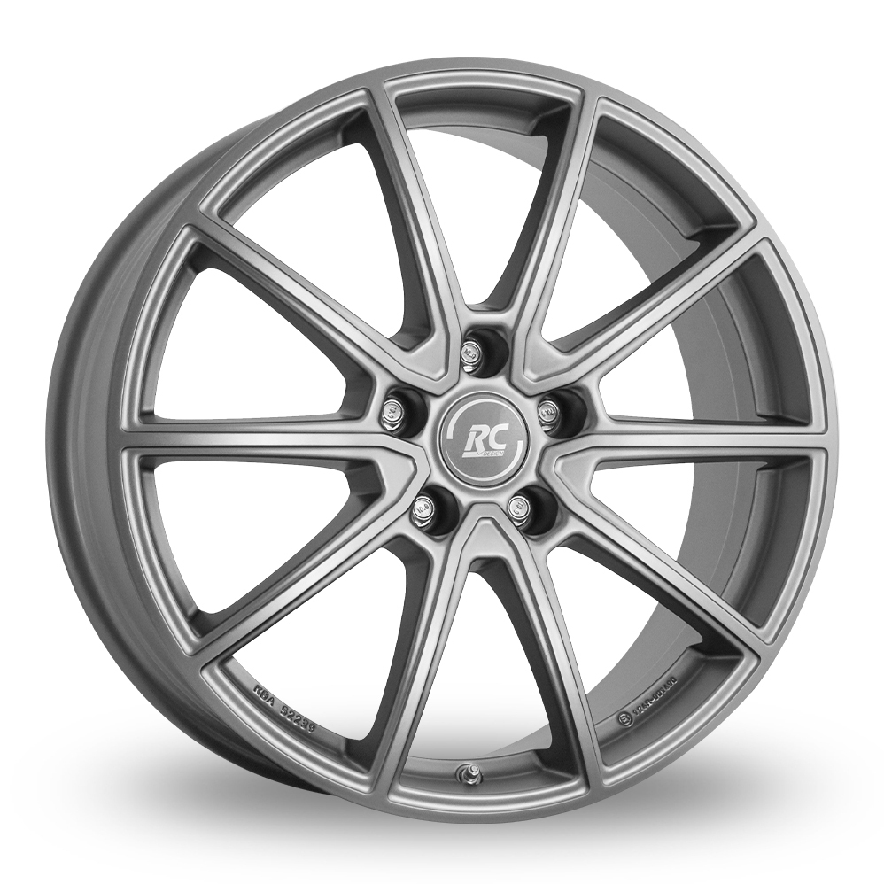 "17"" RC Design RC32 Matt Grey Alloy Wheels"