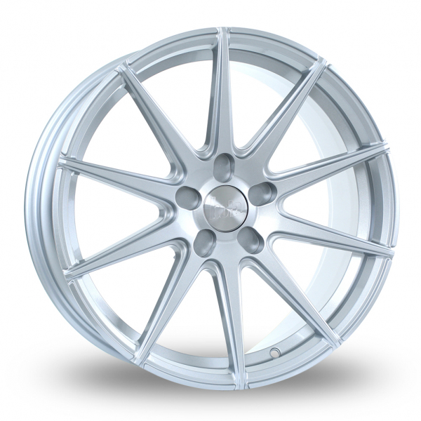 "18"" Bola CSR Crystal Silver Wider Rear Alloy Wheels"