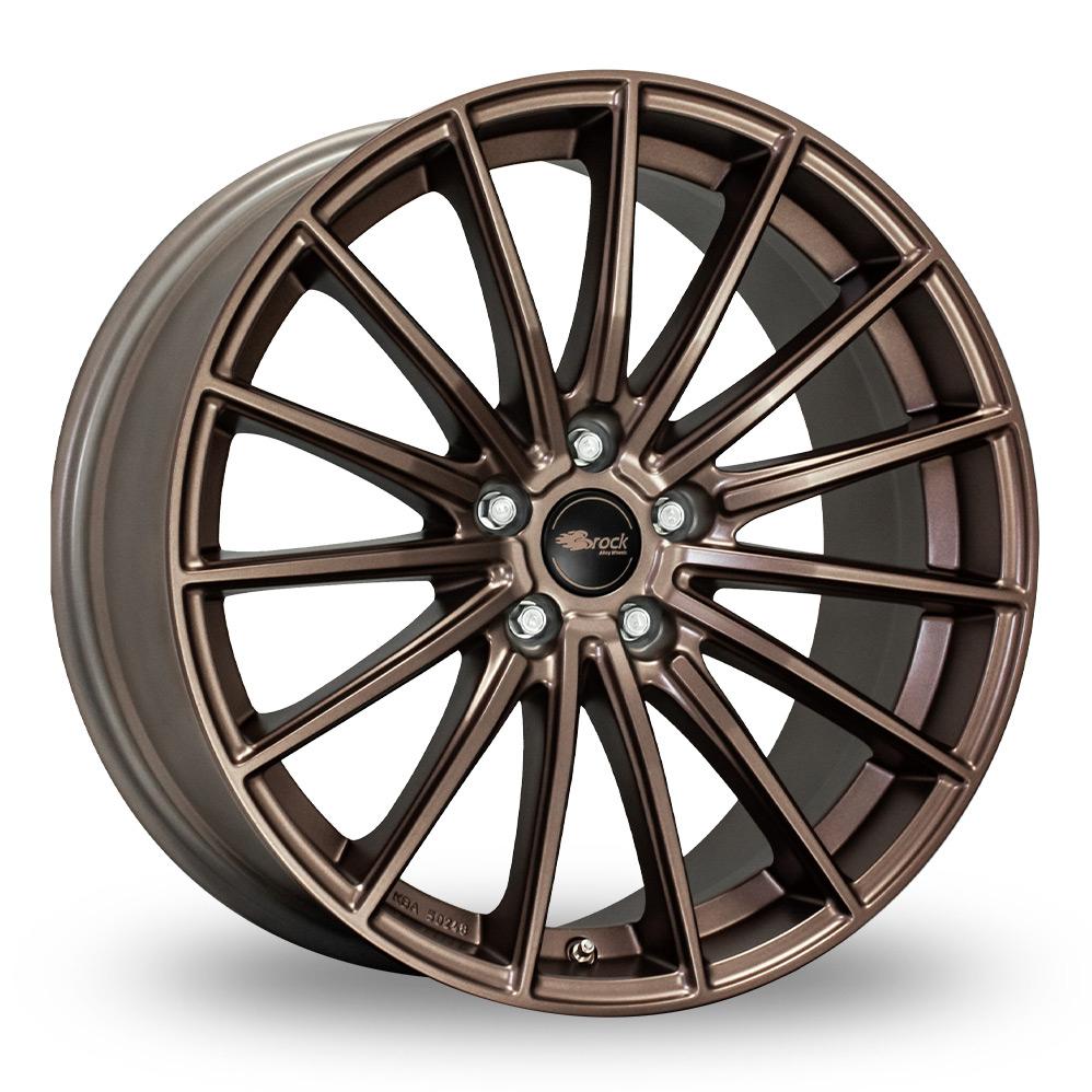 18 Inch Brock B36 Matt Bronze Alloy Wheels