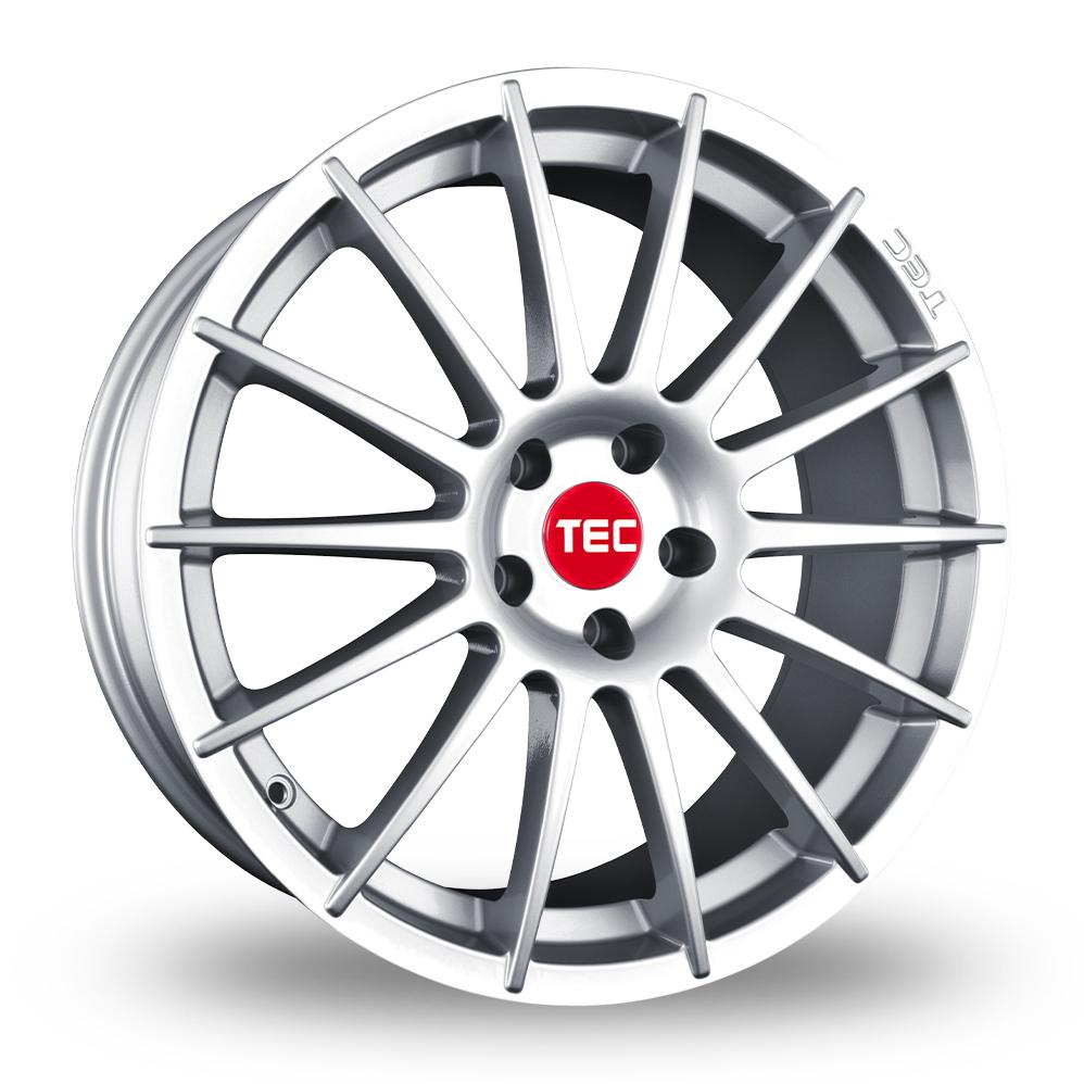 """19"""" TEC Speedwheels AS2 Silver Alloy Wheels"""