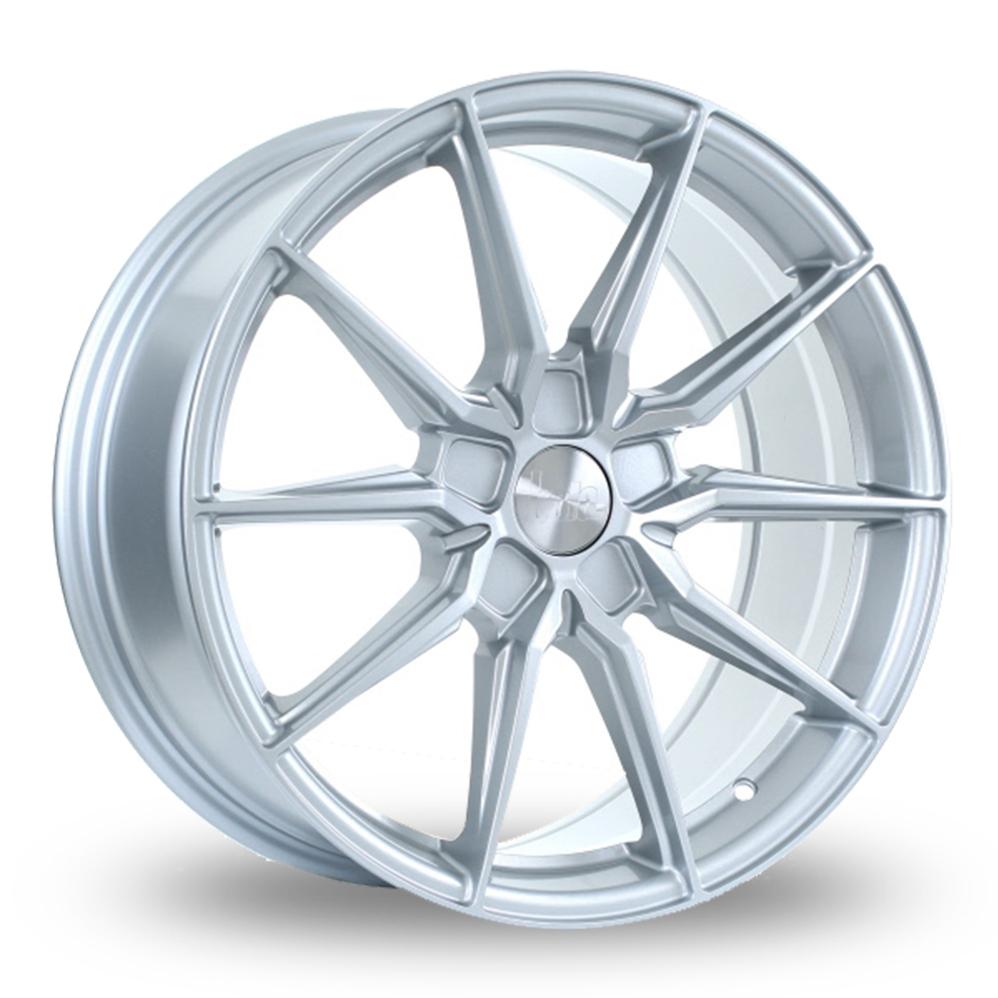 """19"""" Bola B16 Crystal Silver Alloy Wheels"""
