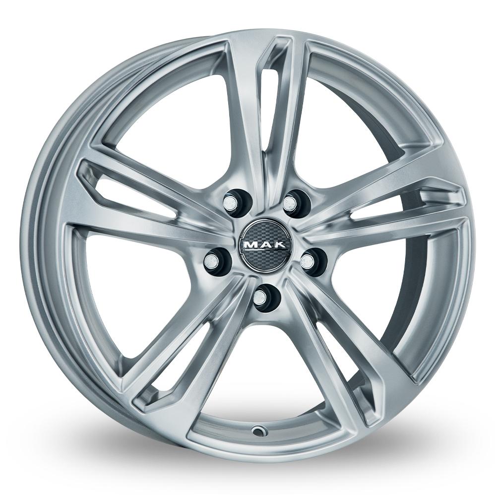 "18"" MAK Emblema Silver Alloy Wheels"