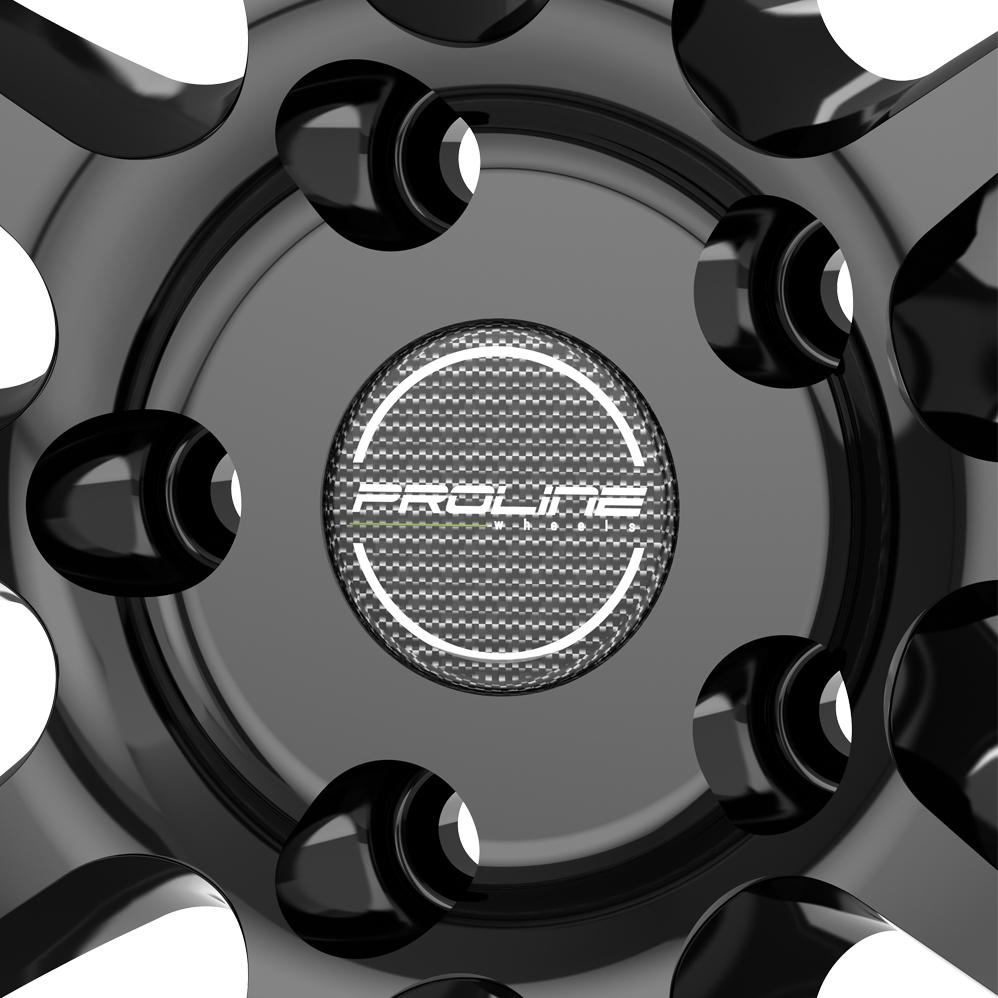 18 Inch Proline UX100 Black Glossy Alloy Wheels