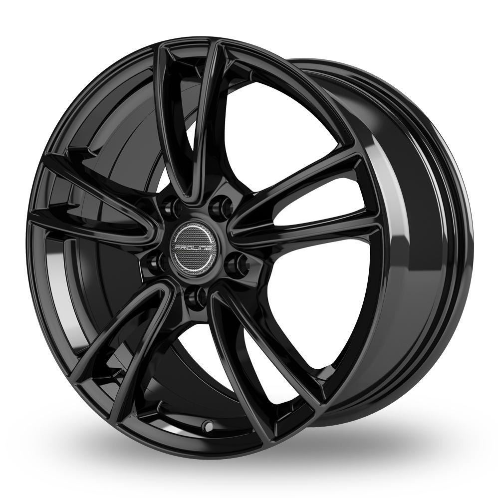 16 Inch Proline CX300 Black Glossy Alloy Wheels