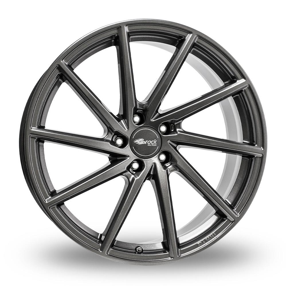 """19"""" Brock B37 Dark Sparkle Alloy Wheels"""