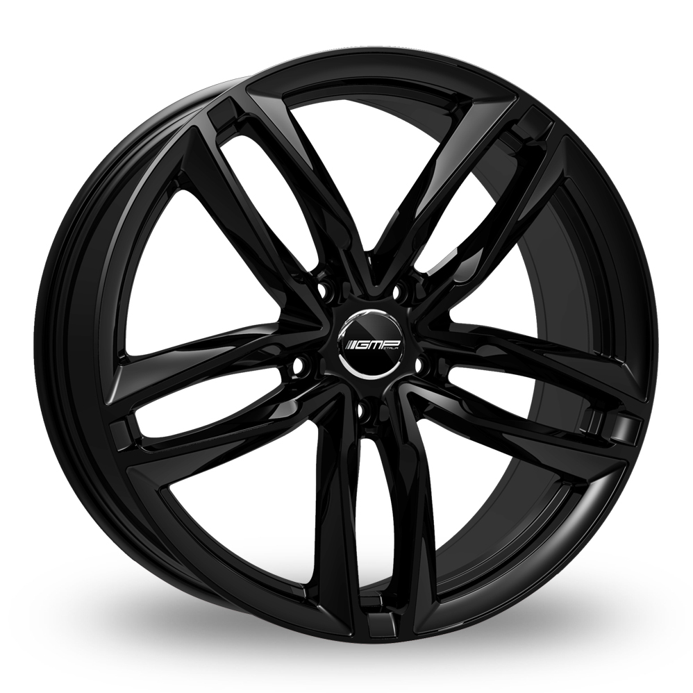 "19"" GMP Italia Atom Gloss Black Alloy Wheels"