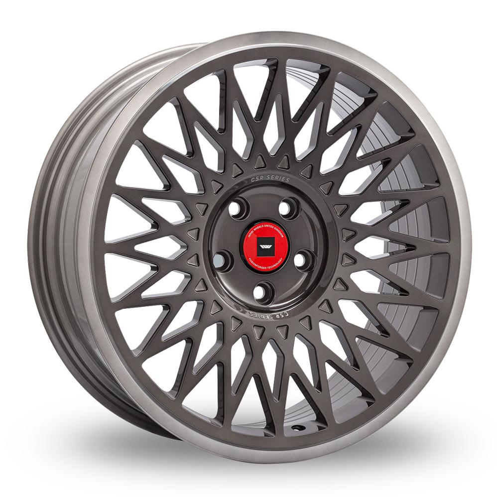 19 Inch Ispiri CSR-FF4 Grey Alloy Wheels