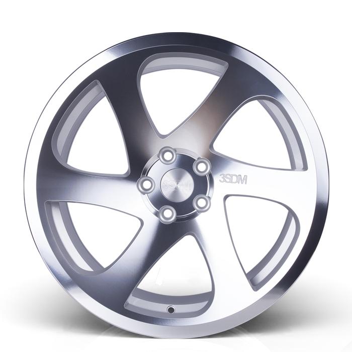 19 Inch 3SDM 0.06 Silver Polished Alloy Wheels