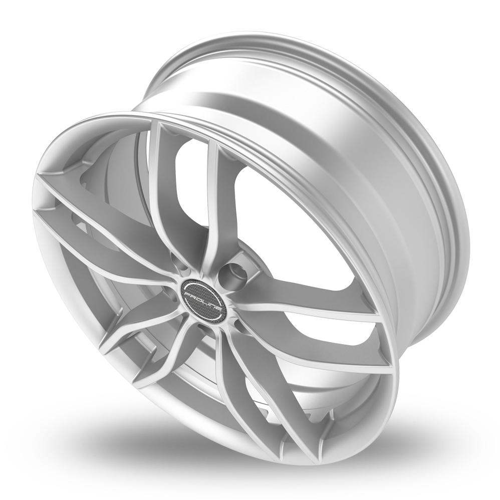 20 Inch Proline ZX100 Arctic Silver Alloy Wheels