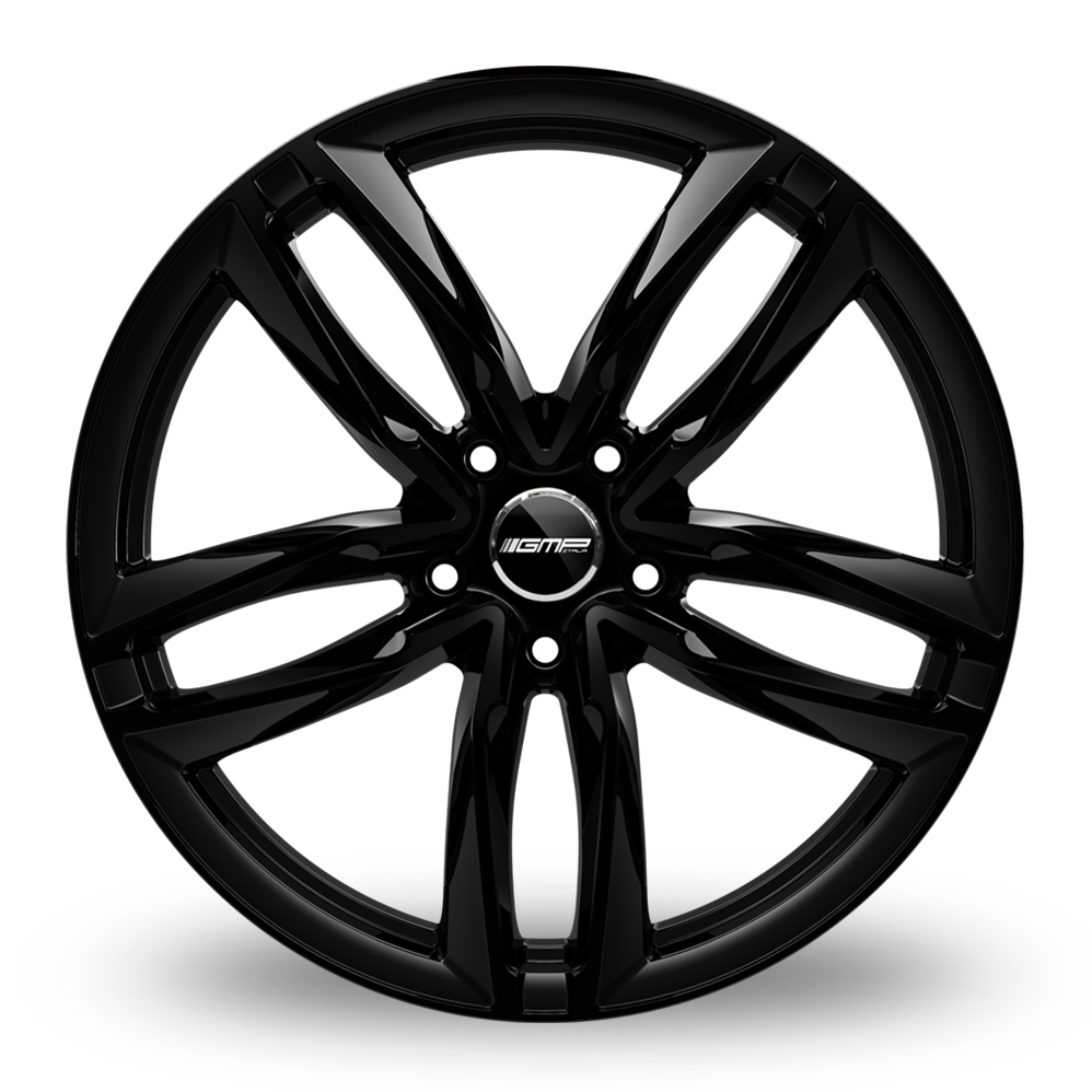 20 Inch GMP Italia Atom Gloss Black Alloy Wheels