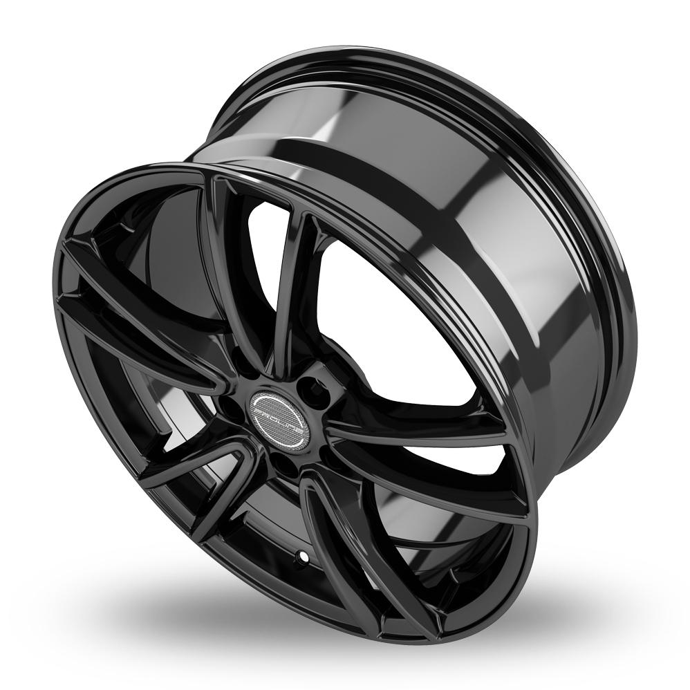 18 Inch Proline CX300 Black Glossy Alloy Wheels