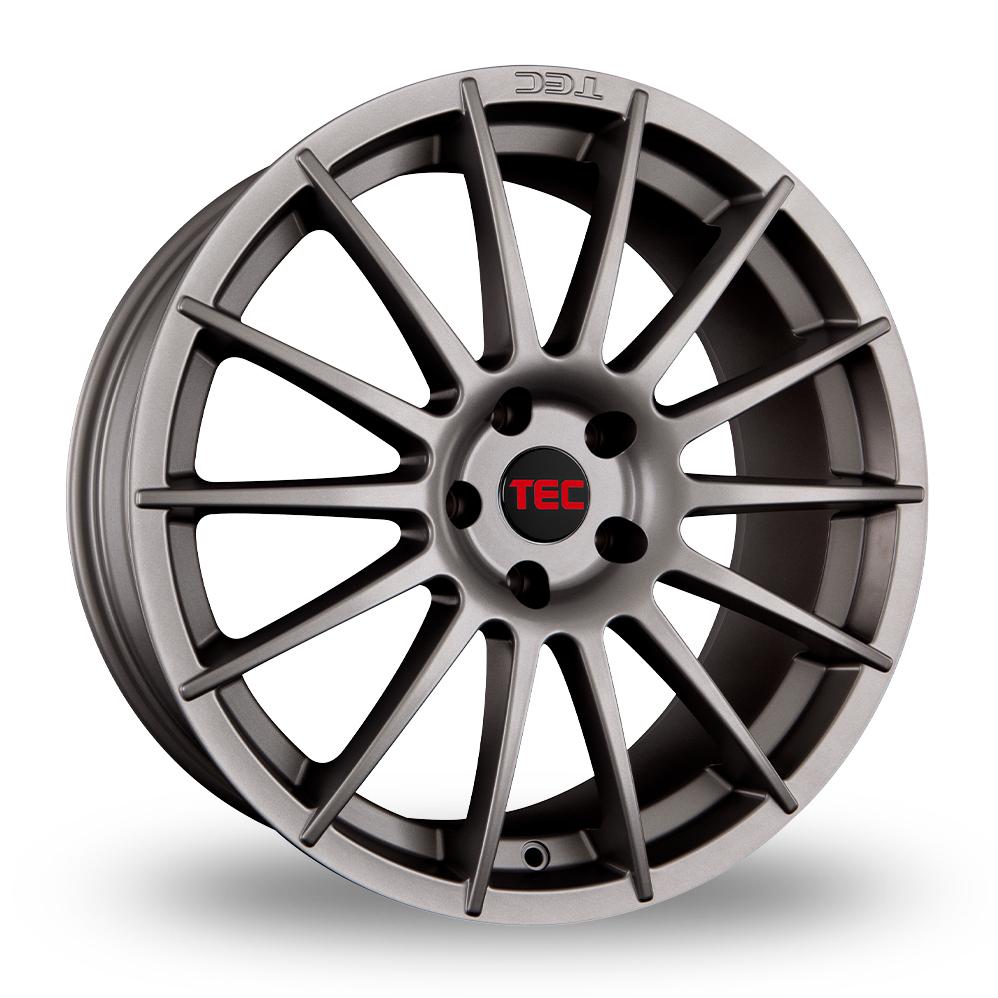 "18"" TEC Speedwheels AS2 Gun Metal Alloy Wheels"