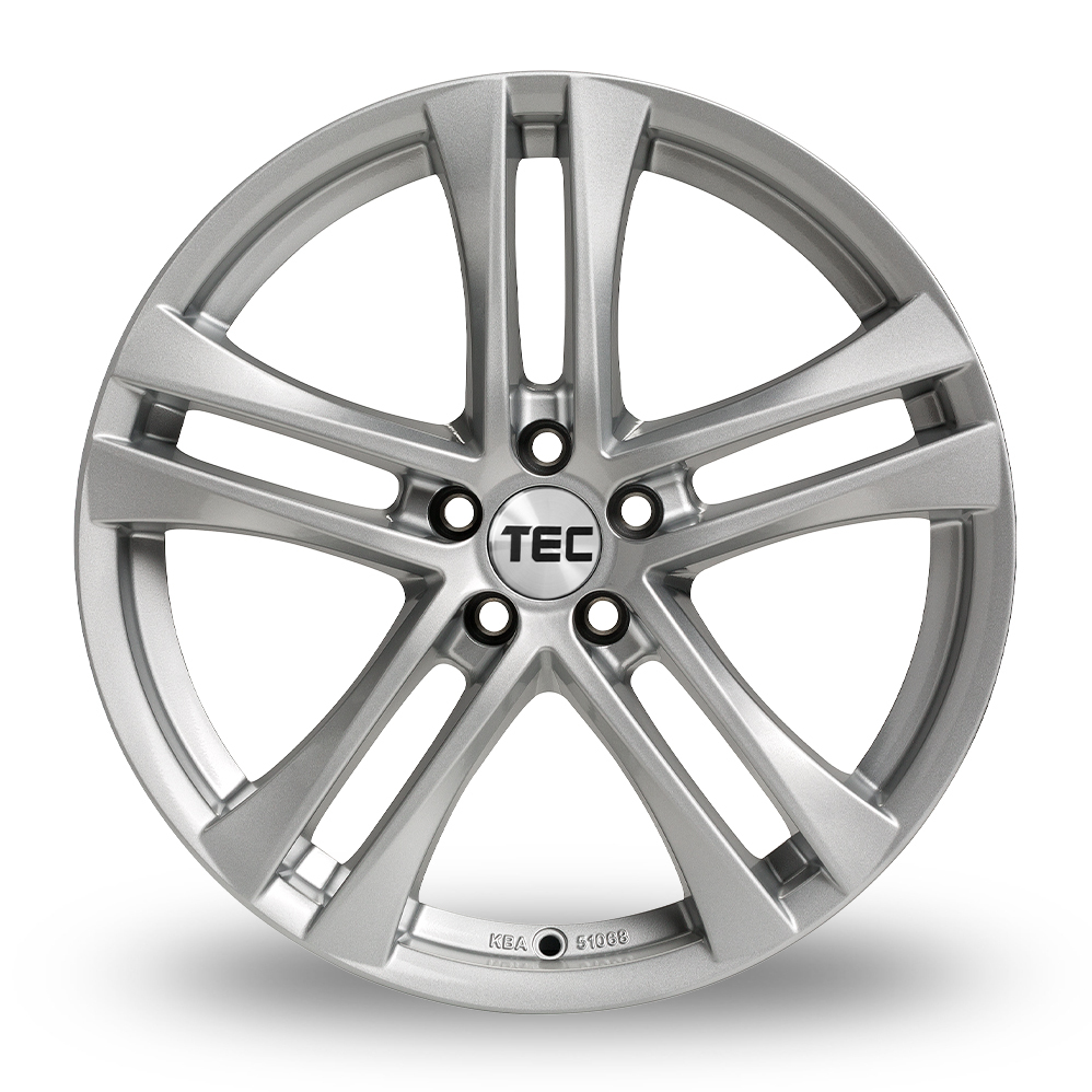 16 Inch TEC Speedwheels AS4 Silver Alloy Wheels
