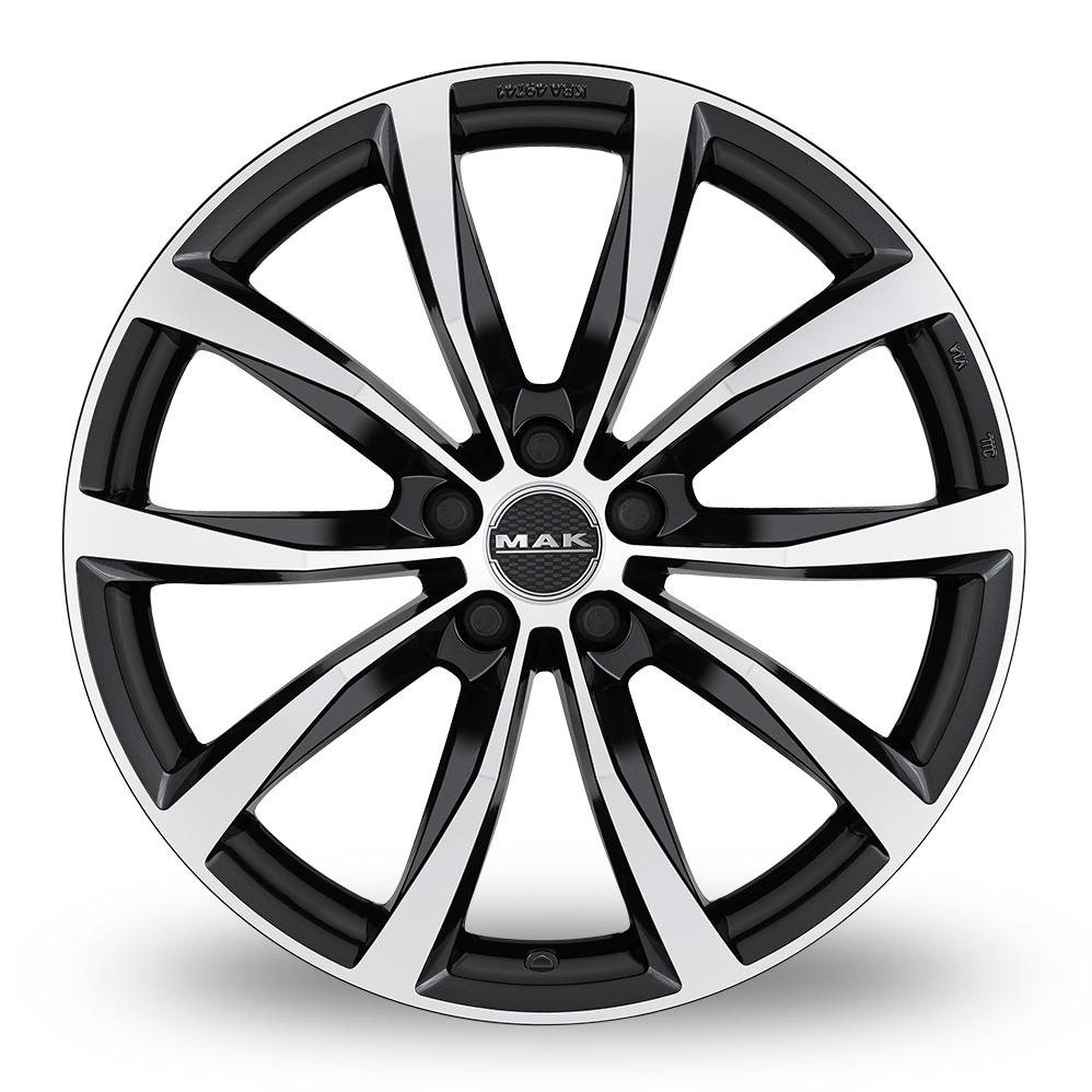 20 Inch MAK Wolf Black Mirror Alloy Wheels