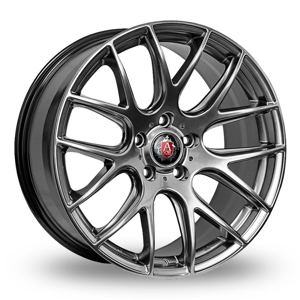 19 Inch Axe CS Lite Dark Silver Alloy Wheels