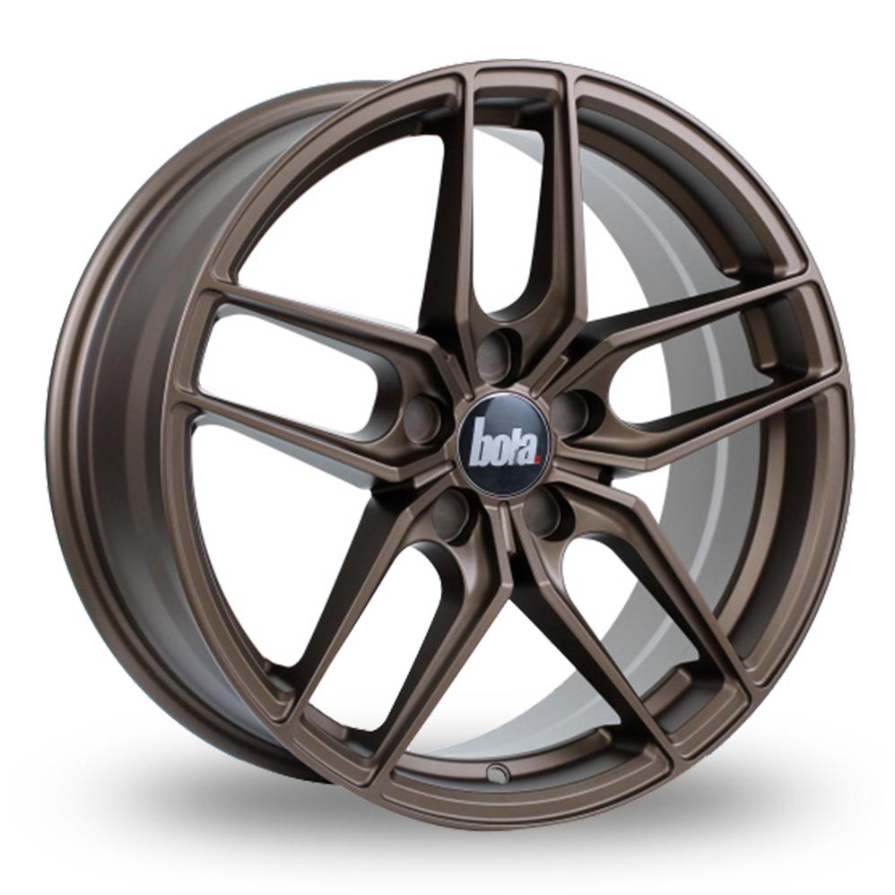 "20"" Bola B11 Matt Bronze Wider Rear Alloy Wheels"