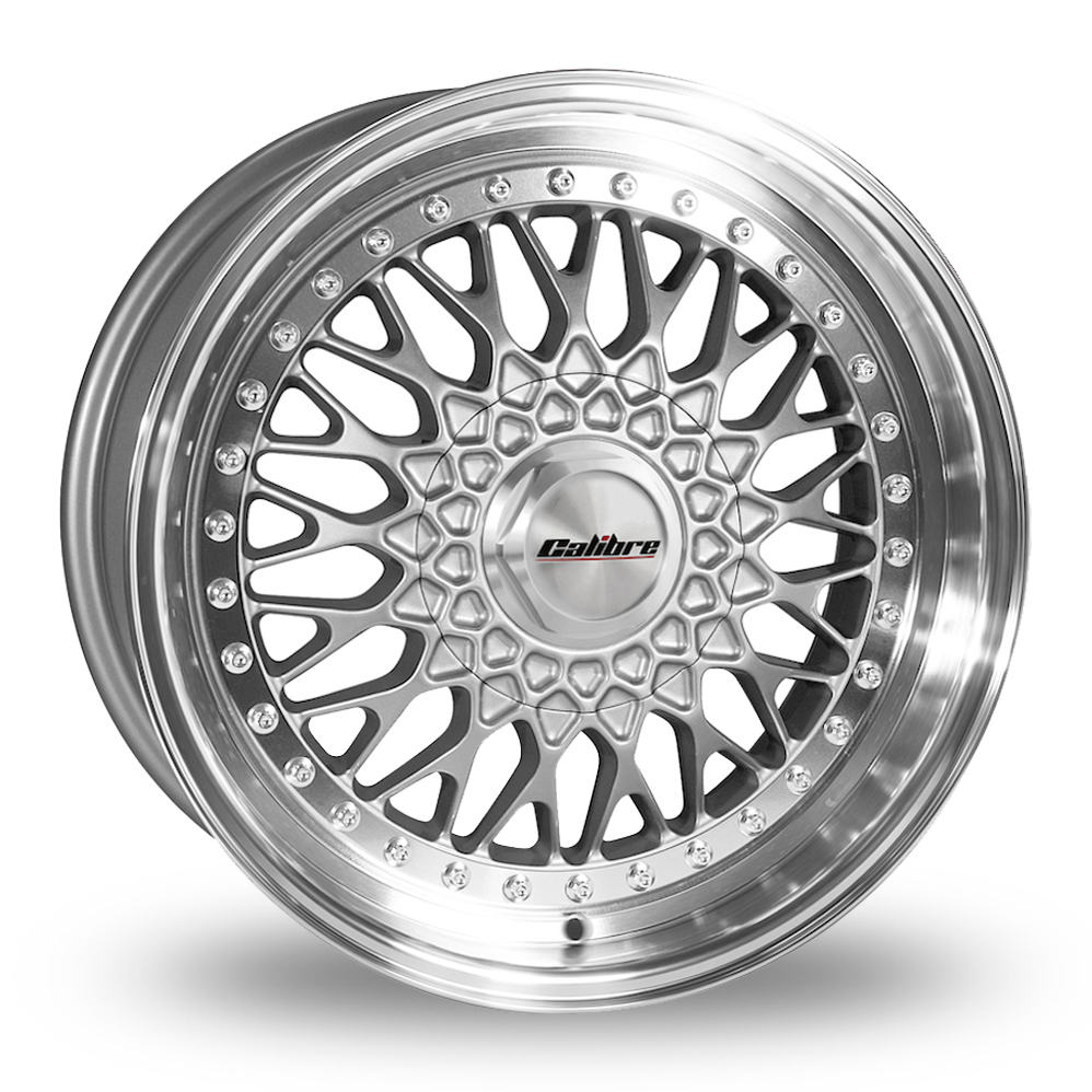 15 Inch Calibre Vintage Silver Alloy Wheels