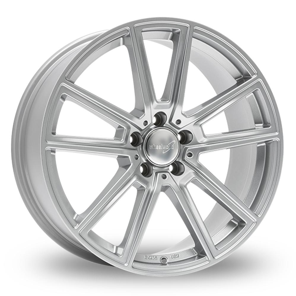"17"" Wheelworld WH30 Silver Alloy Wheels"