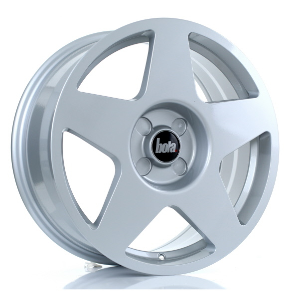 "17"" Bola B10 Silver Alloy Wheels"
