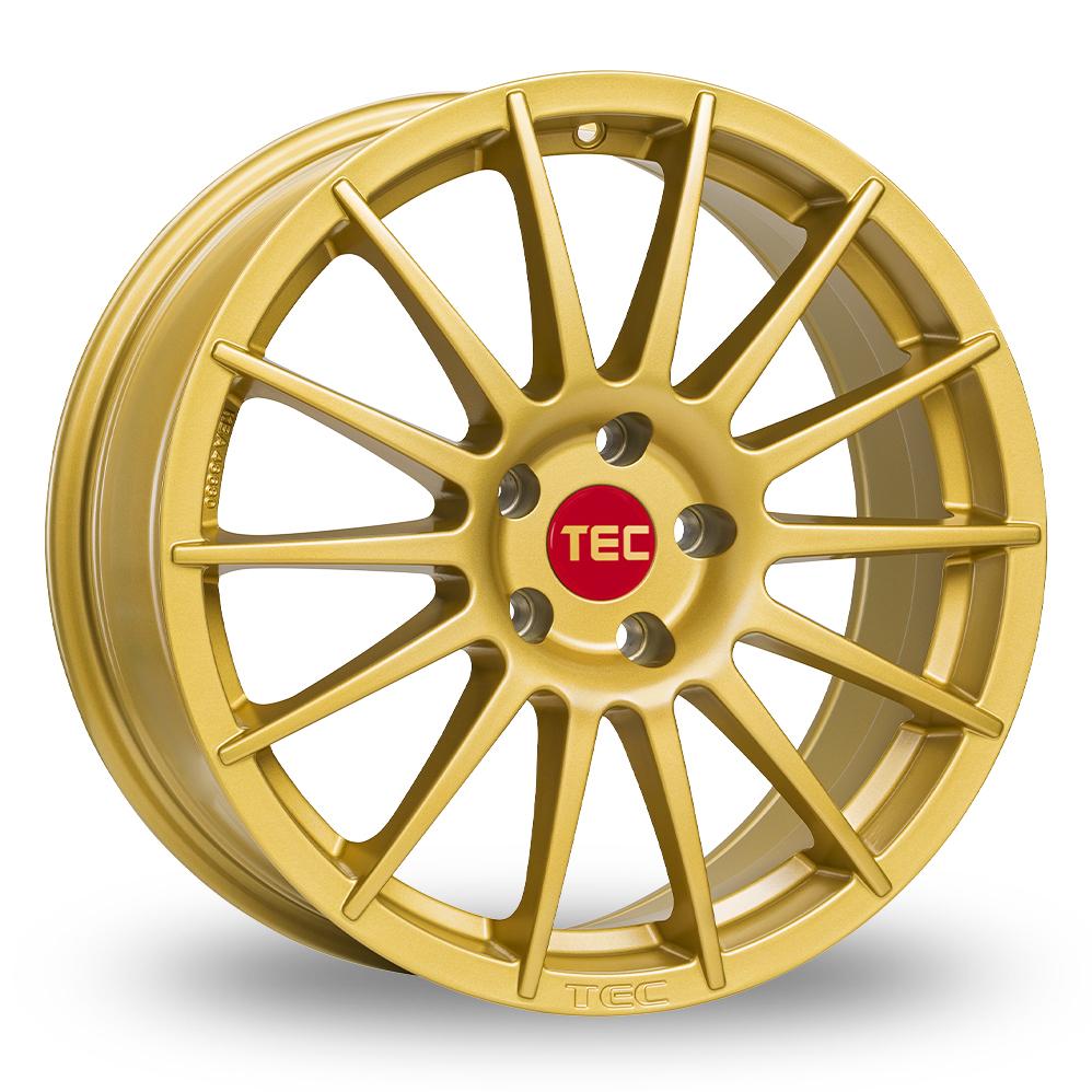 17 Inch TEC Speedwheels AS2 Gold Alloy Wheels