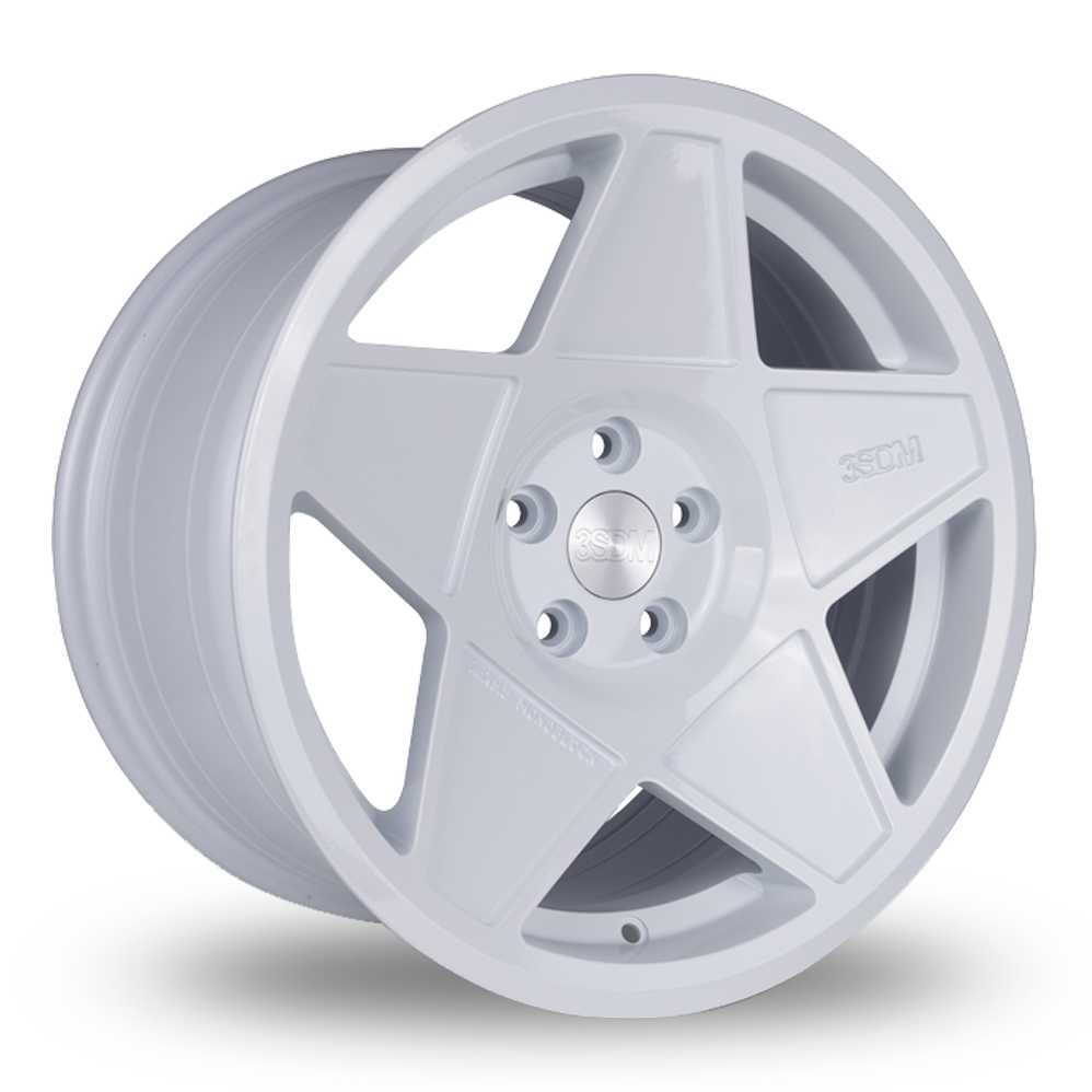 "16"" 3SDM 0.05 White Alloy Wheels"