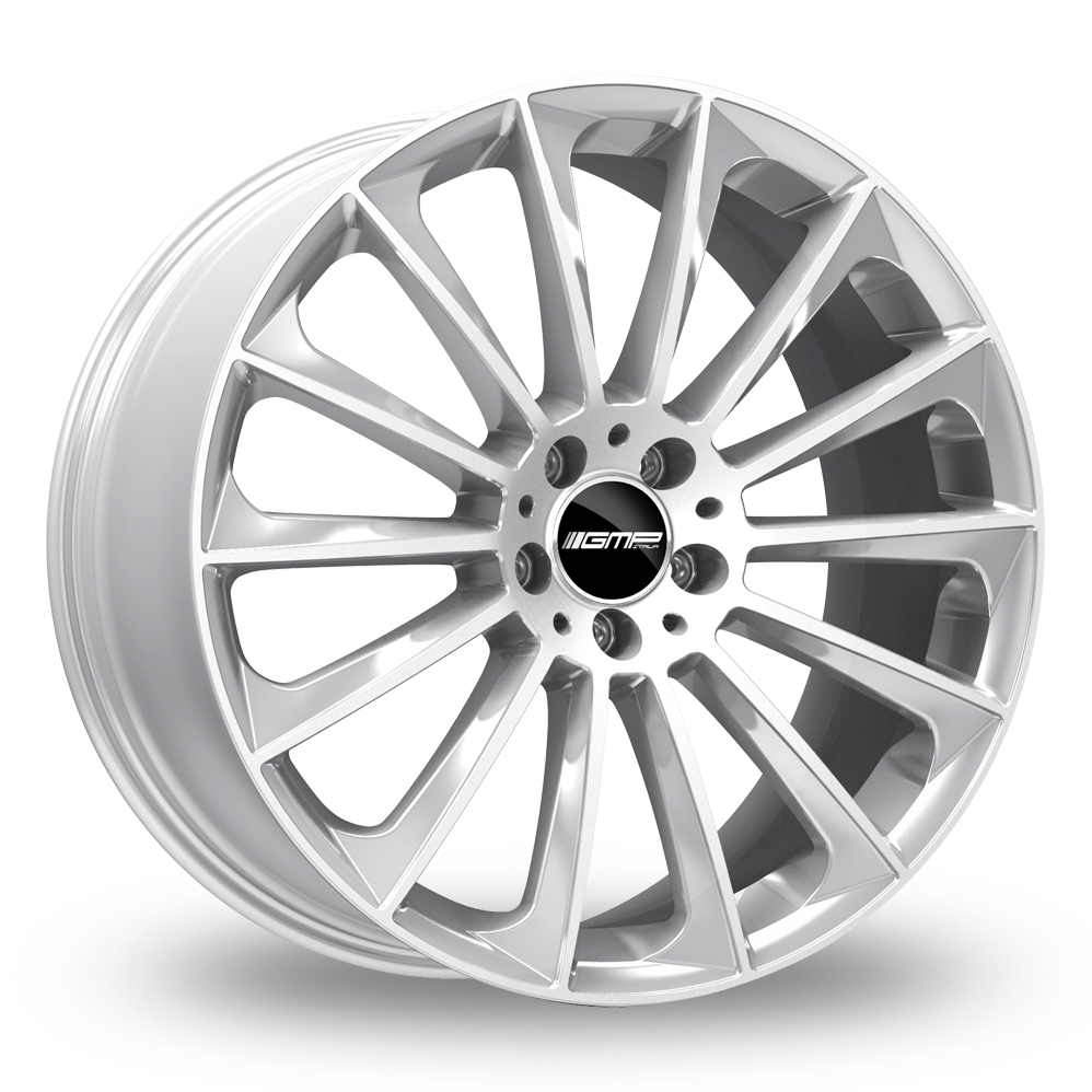 "21"" GMP Italia Stellar Silver Wider Rear Alloy Wheels"